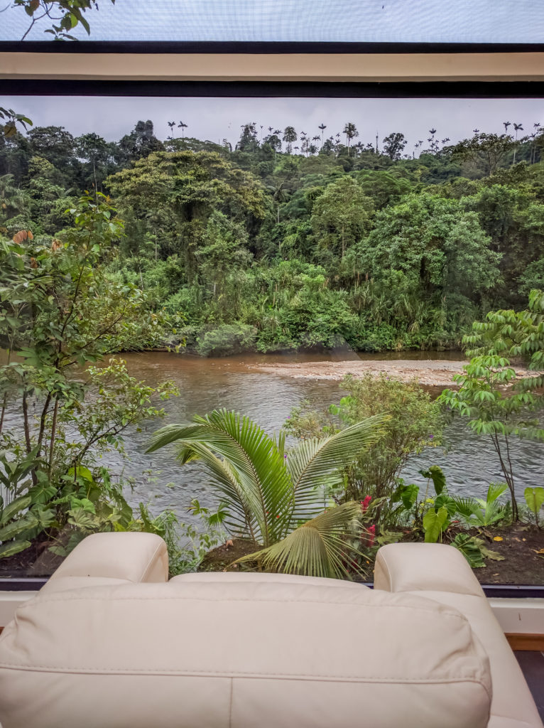 View of the River_Ecuador Adventure Retreat